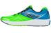 saucony Ride 9 Running Shoes Men Slime/Blue/Black